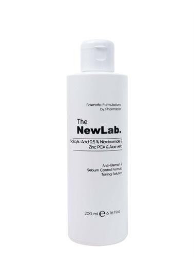 The NewLab Akne Karşıtı Sebum Kontrol Arındırıcı Tonik  Renksiz